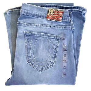 True Religion Flare Jean's Size 31